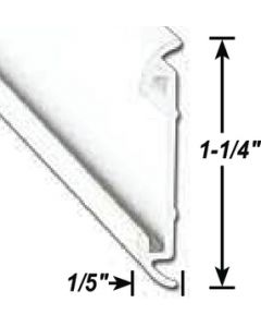 AP Products Flat Trim Ins. Pw 16' @5 - Flat Trim W/Insert