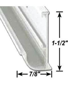 AP Products Gutter Rail  Blk 16'  @5 - Insert Gutter - Drip Rail
