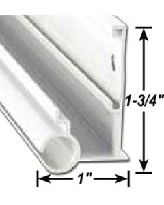 AP Products Gutter/Awn Rail Bk 16' @5 - Awning Rails