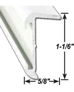 AP Products Roof Edge Pw 16' @5 - Insert Roof Edge
