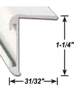 AP Products Ll Corner Mold. Mill 8' @5 - Insert Corner Molding