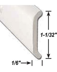 AP Products Flat Trim Pw  8' @5 - Non Insert Trim