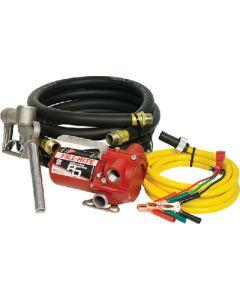 Moeller Portable Pump w/Hose & Nozzle, 12V DC