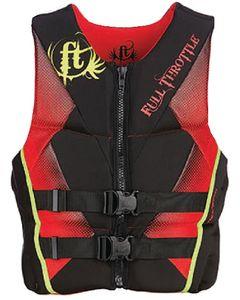 Full Throttle PFD MEN RAPD-DRY FLEX-B RED 3X - FULL THROTTLE