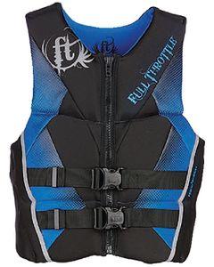 Full Throttle PFD MEN RAPID-DRY FLEX-B BLU L - FULL THROTTLE