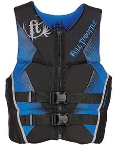 Full Throttle PFD MEN RAPD-DRY FLEX-B BLU 2X - FULL THROTTLE