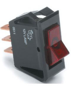 Narrow Body Lighted Rocker Switch