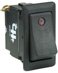 Lighted Rocker Switch/Weather Resistant SPST, Off/On