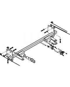 Base Plat Crslr/Mercds Smtcar - Blue Ox Tow Baseplates
