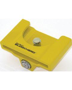 CT Johnson Blockhead Lock 2In-2-5/16 Yllo - Blockhead Coupler Lock