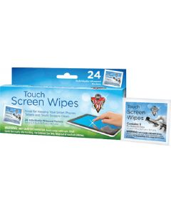 Falcon Touch Screen Wipes, 24/pk