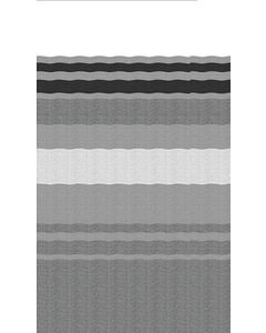 Powerwinch Repl Fabric Black-Grey 16Ft - Patio Awning Replacement Fabrics