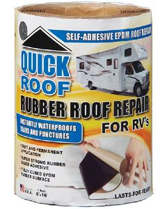 Quick Roof Rubber Fix 6 X16 - Quick Roof&Trade; For Rubber Roofs