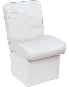 "Wise 10"" Base Jump Seat, White"