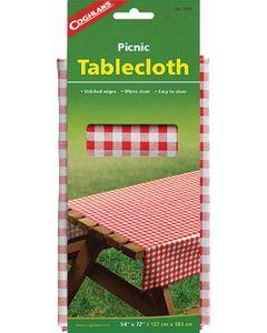Coghlans Tablecloth Asst Colors - Heavy Vinyl Tablecloth