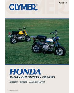Bell HONDA SINGLE CLYMER MANUAL