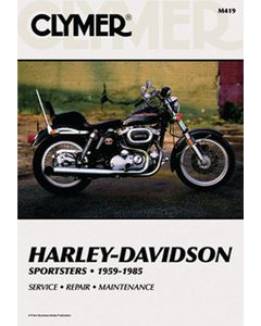 Bell HARLEY DAVIDSON REPAIR MANUAL M419
