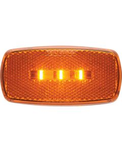 Optronics Surface Mount Led Marker/ Clearance Light With Reflex