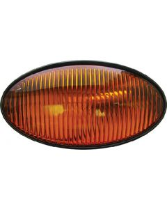 Porchoval W/O Switch Amber - Oval Porch/ Utility Lights