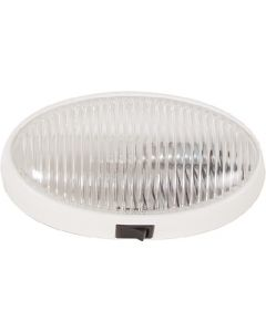 Porch Light Oval W/Switch Clr - Oval Porch/ Utility Lights