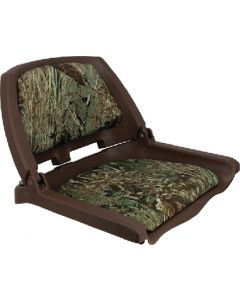 Springfield Traveler Seat, Brown Shell w/Mossy Oak Duck Blind