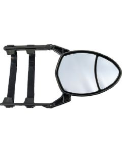 Towing Mirror Clamp-On Double - Clip-On Dual View Towing Mirror