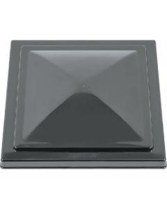 Vent Lid Polycarb Black - Rv Vent Lids: Unbreakable Polycarbonate