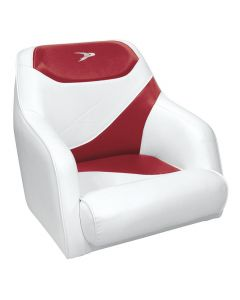 Wise Traditional Style Bucket Seat Contemporary Series, Red-White