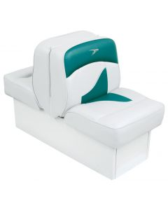 Wise Back-to-Back Lounge Seat Contemporary Series - White-Teal