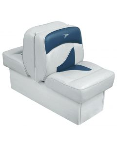 Wise Back-to-Back Lounge Seat Contemporary Series - Gray-Dark Blue