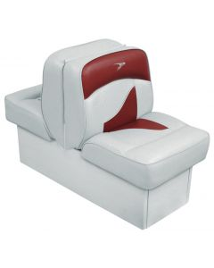 Wise Back-to-Back Lounge Seat Contemporary Series - Gray-Red