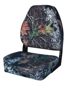 Camouflage High-Back Fold-Down Seat