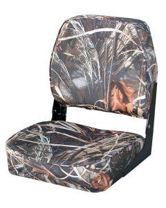 Wise Camo Low Back Fold-Down Hunting Fishing Seat