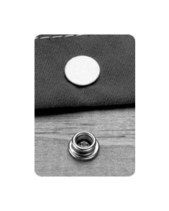 Taylor Made Snap Fasteners Male Cloth (100 Pack)