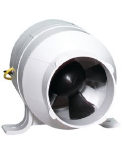 Attwood Turbo 3000 Blower 120 Cfm Water Resistant 12V White 1733-4