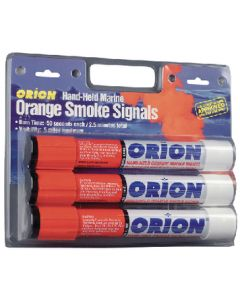 Orion Safety Products Hand Held Orange Smoke 3/Card