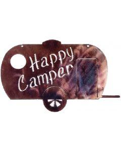 Happy Camper Art - Happy Camper Metal Art
