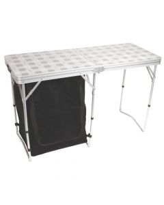 Table Folding With Storage - Store More™ Cupboard Table