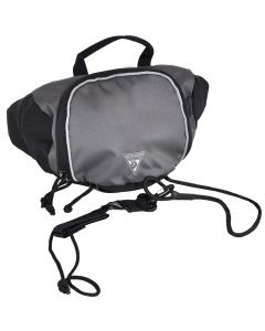 Seattle Sports SUP Stow Hip Pack & Leash Charcoal
