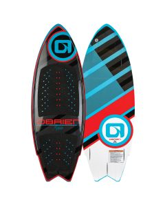 O'Brien Maha Wakesurfer, Red-Black, 5'