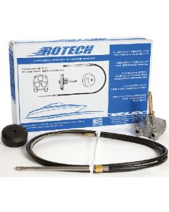 Uflex Rotech Rotary Steering Package - Cable, Bezel, Helm