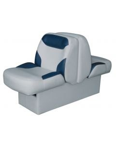 Wise Bayliner Capri and Classic Back-to-Back Lounge Seat with Floor Base, Gray-Blue