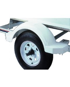 """Fulton Step Top & Sides, for 14"""" Tires, White"""