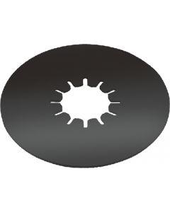 "Titan 16K Fifth Wheel - Titan&Reg; 16K Fifth Wheel 12"" Thin Round Lube Plate"