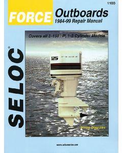 Seloc Honda Outboards 2-225hp 2002-2014 Repair Manual, 1-4 cyl, V6