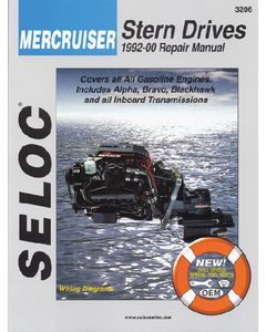 Seloc Mercruiser Sterndrives & Inboards 2001-2013 Repair Manual Includes All Gas Engines and Inboards