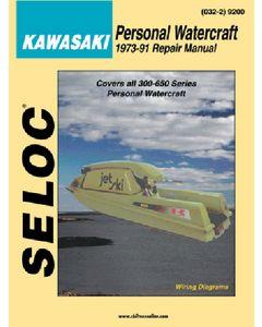 Seloc Sea-Doo Bombardier Jet Ski PWC 1988-1991 Repair Manual