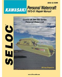 Seloc Polaris, All 650-1050 Series, 1992-97