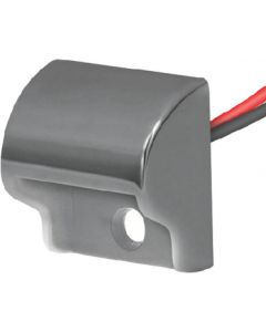 TH Marine Stainless Steel Indirect LED Courtesy Light, Amber