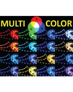 TH Marine LED RGB Color Changing Flat Rope Light, 20'
